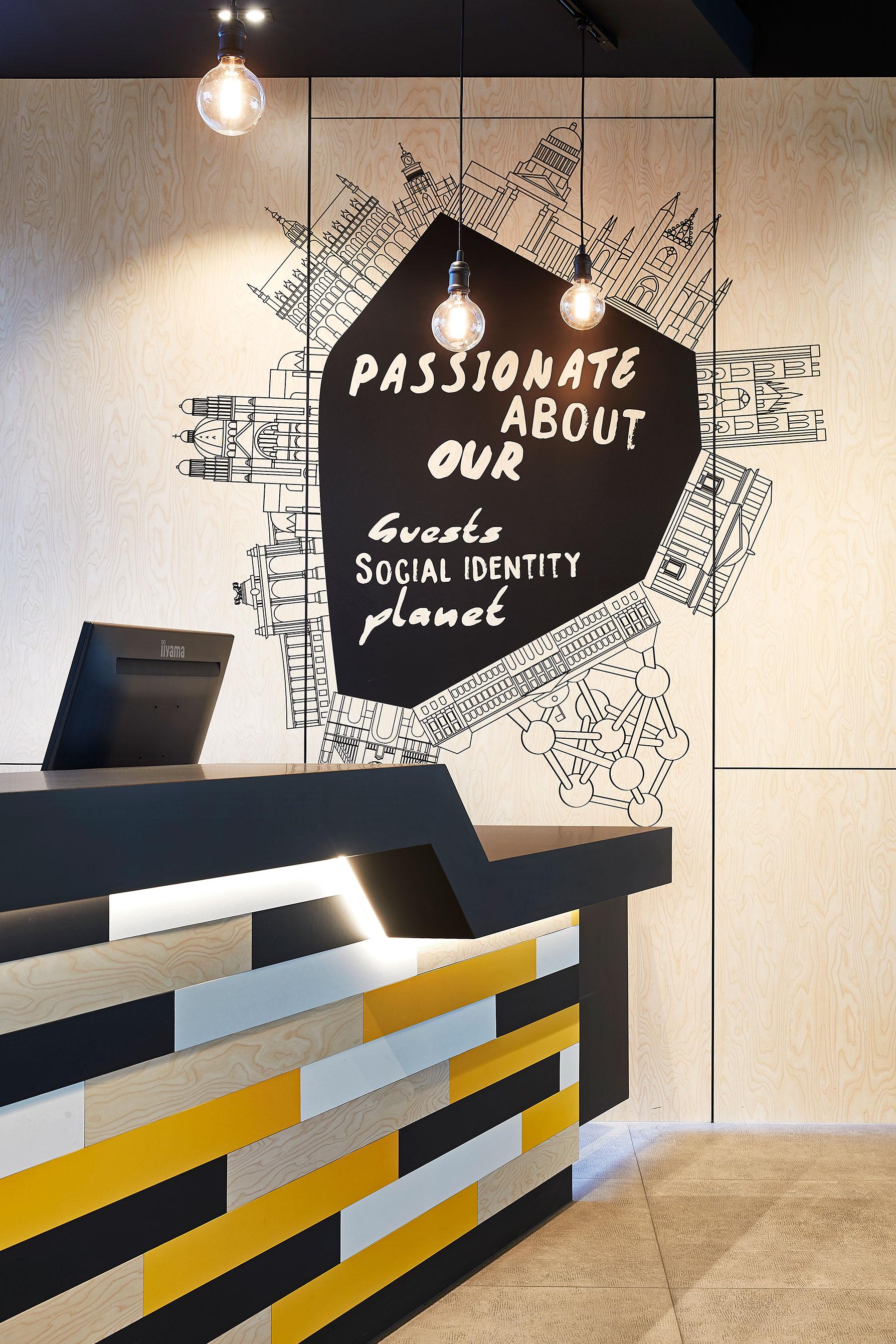 Sleepwell Hostel Michel Penneman Interior designer Brussels