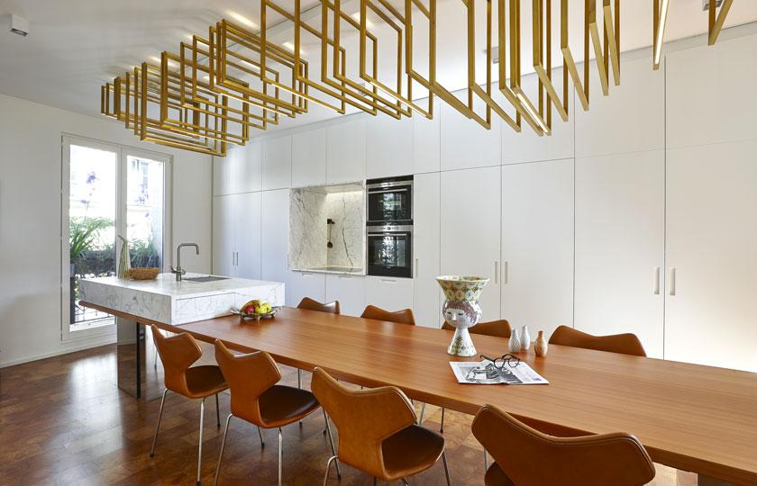 michel penneman interior designer duplex paris