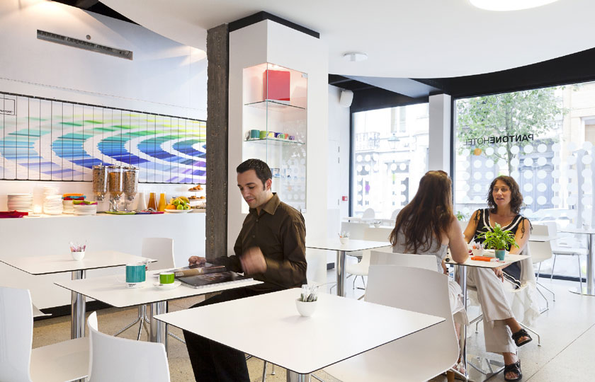 pantone hotel michel penneman interior designer