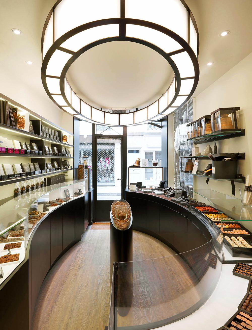 michel penneman interior design brussels paris taÏwan monaco marcolini chocolate chocolaterie