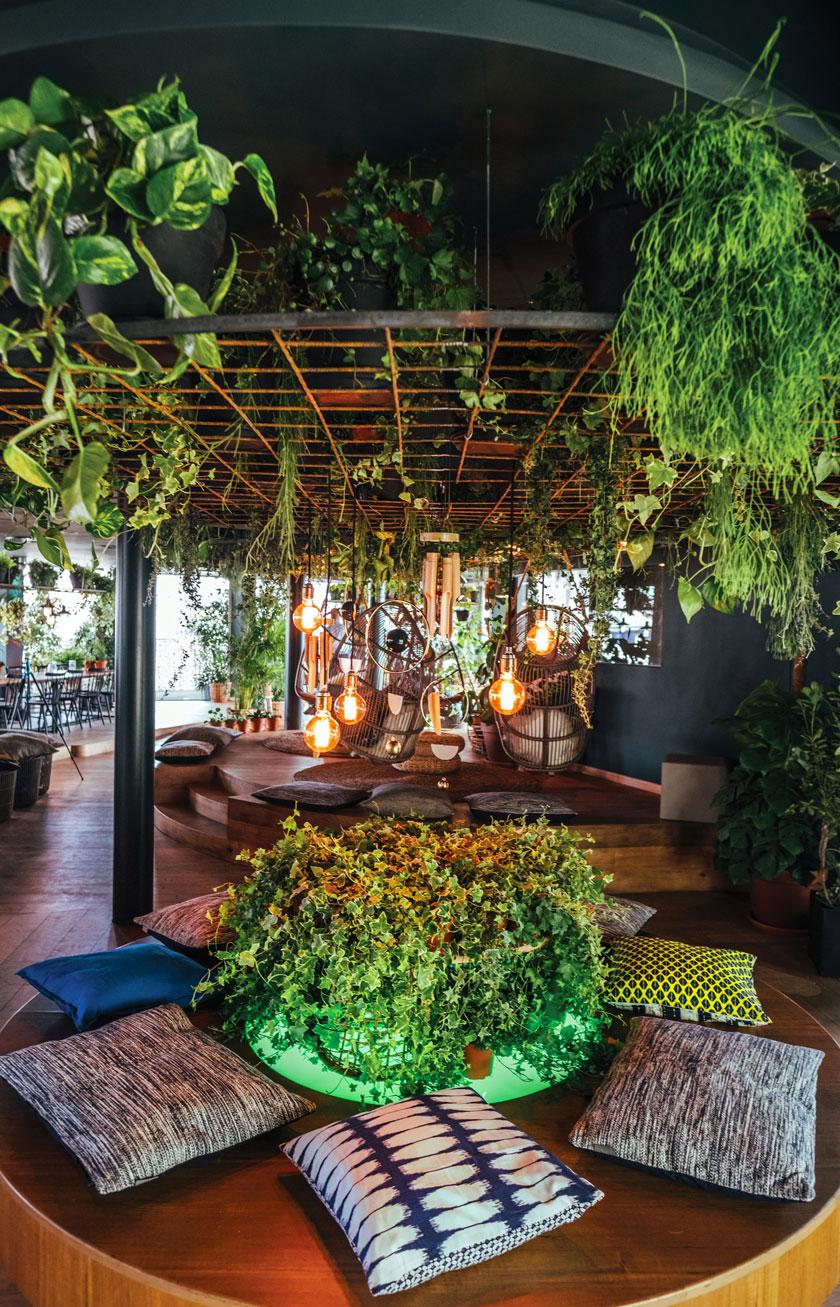 rooftop bar là-haut michel penneman interior designer