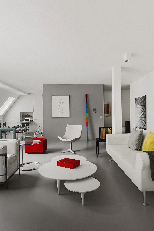archetype apartment michel penneman interior designer brussels